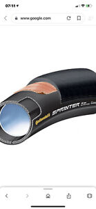 CONTINENTAL-SPRINTER-TUBULAR-TYRE-700-x-25mm-NEW-amp-UNUSED-BOXED