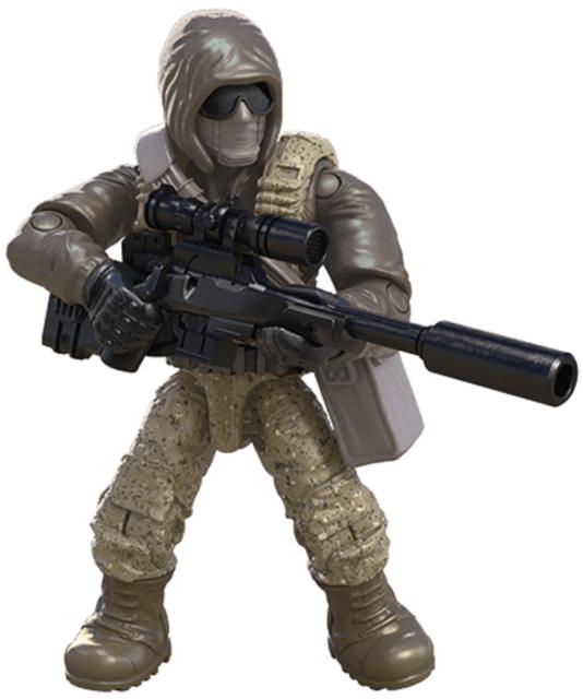 FIIGURE #5 From Call of Duty COD Mega Construx FPY19 Desert Air Defenders