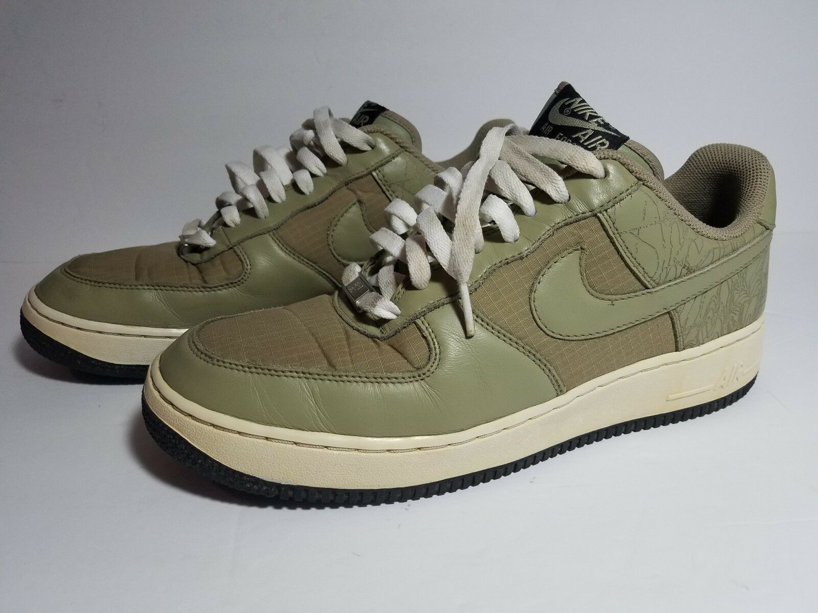 Nike Air Force 1 Military QK Sz 9.5 Olive Drab Tactical Marines Limited Edition