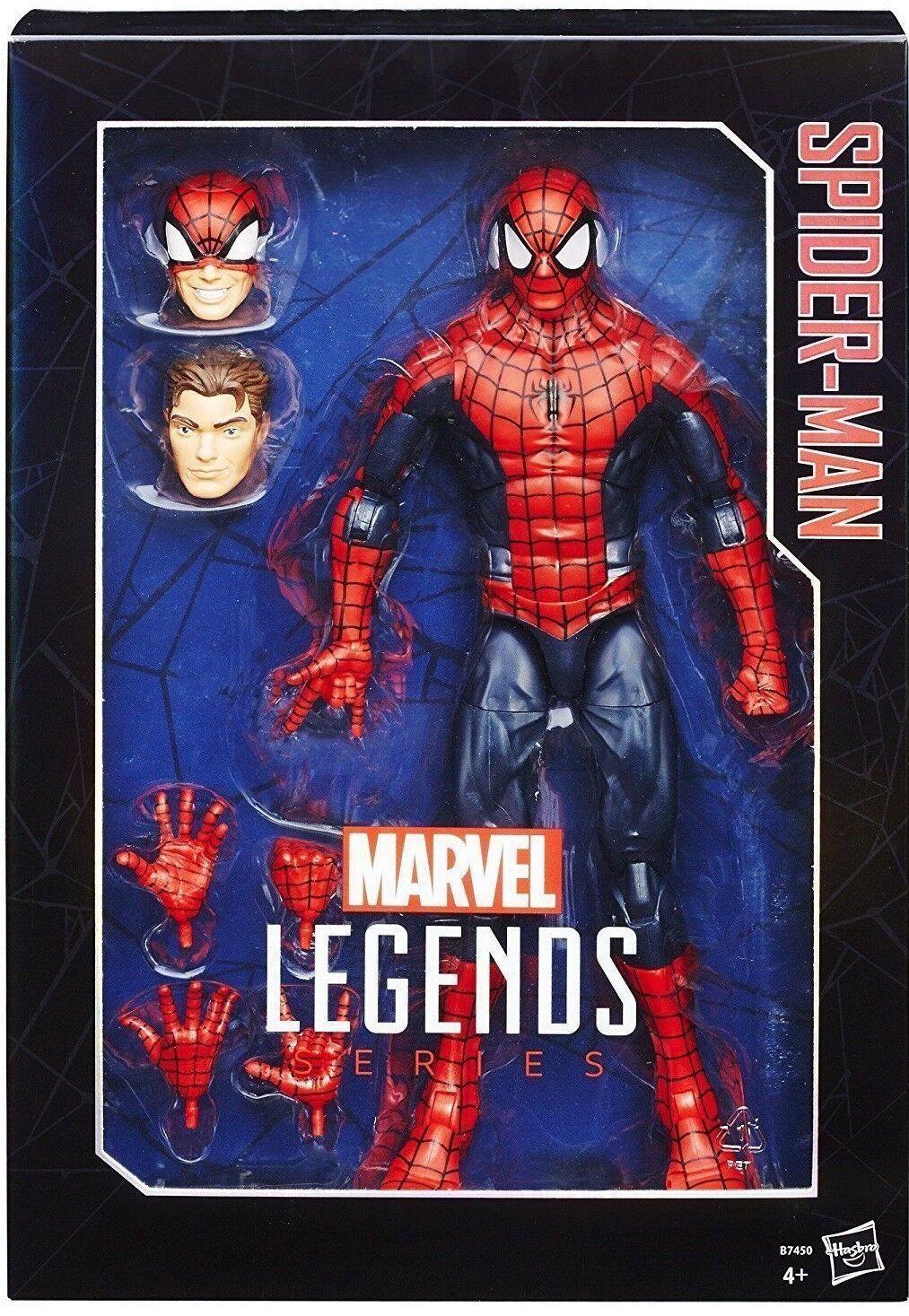 MARVEL LEGENDS Avengers Spiderman 12 inch scaled figure