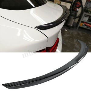 Carbon-Fiber-Rear-Trunk-Spoiler-Wing-Lip-For-BMW-4-Series-F36-Gran-Coupe