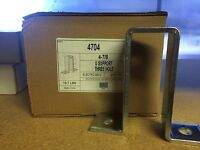 (4704) P2473 4-7/8 3 Hole U Fitting For Unistrut Channel / Box Of 10