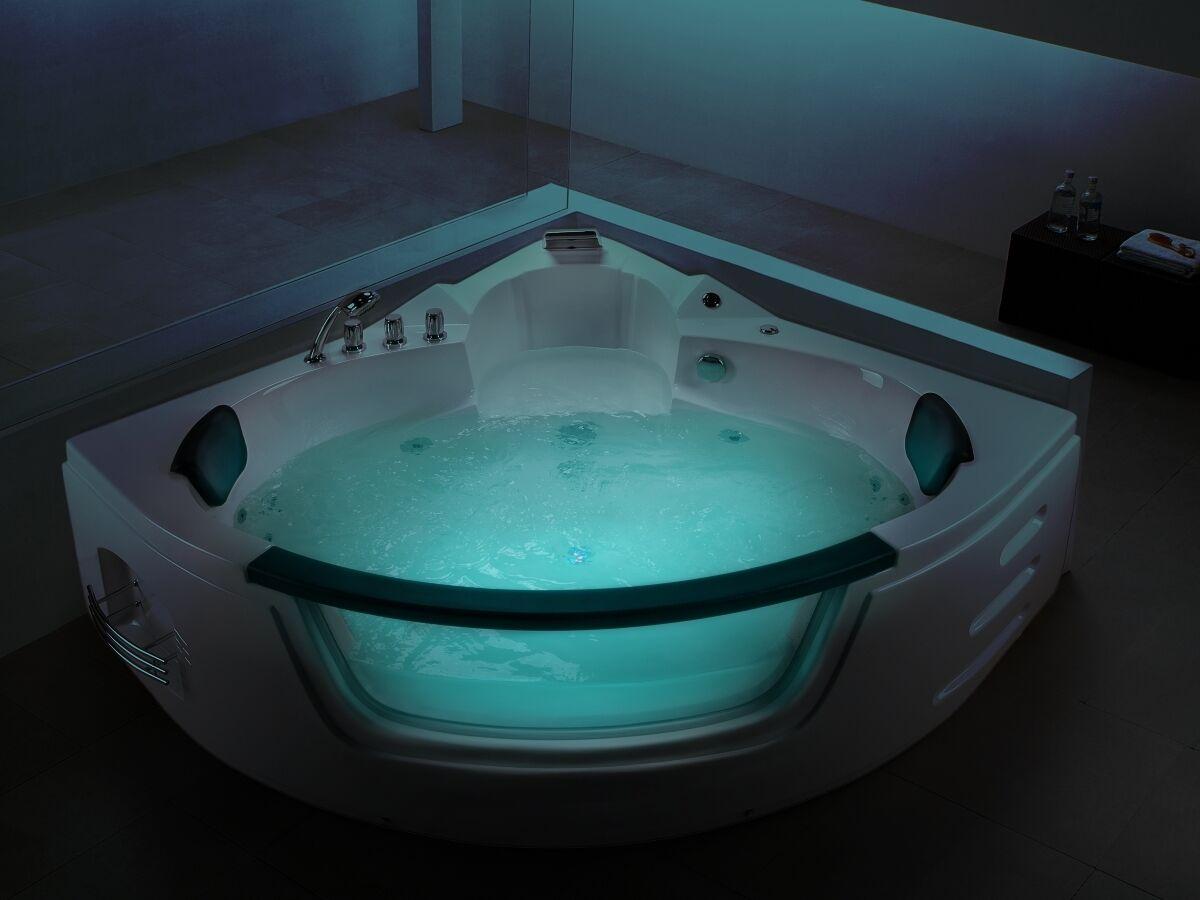 Vasca Da Bagno Troppo Lunga : Vasca idromassaggio di lusso da bagno cm con vetro luce led