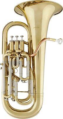 Band & Orchester Koffer Und Mundstück Spezieller Kauf Arnolds & Sons Aep-1150 In B Euphomium Messing Lackiert