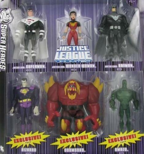 DC súper Heroes  Liga De La Justicia Ilimitada justicia señores Batman Mujer Maravilla su..