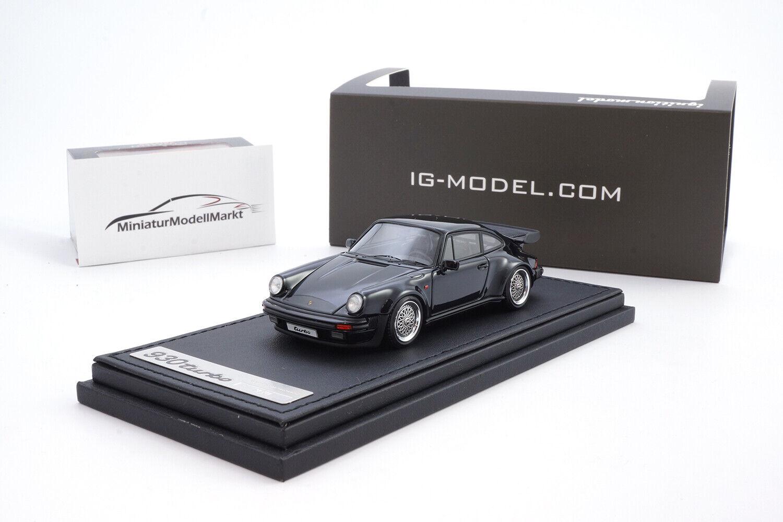 marcas en línea venta barata  ig0940 - ignition ignition ignition Model Porsche 911 Turbo (930) - negro-BBS llantas - 1 43  Obtén lo ultimo