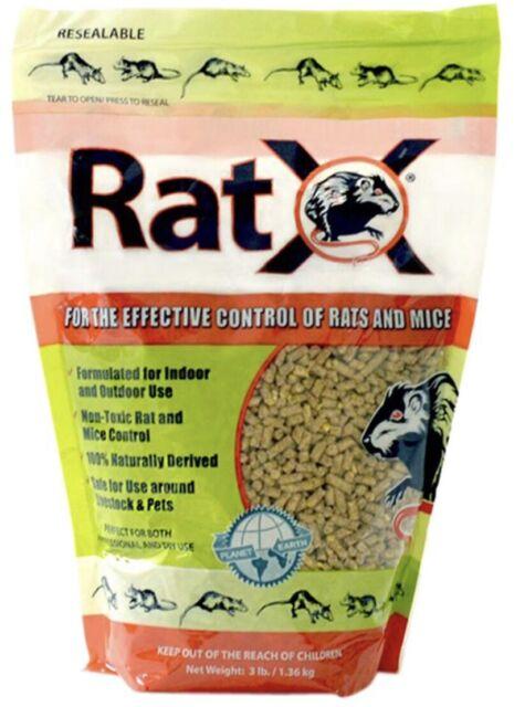 RatX 620102 Rodent Bait 3 lb Bag