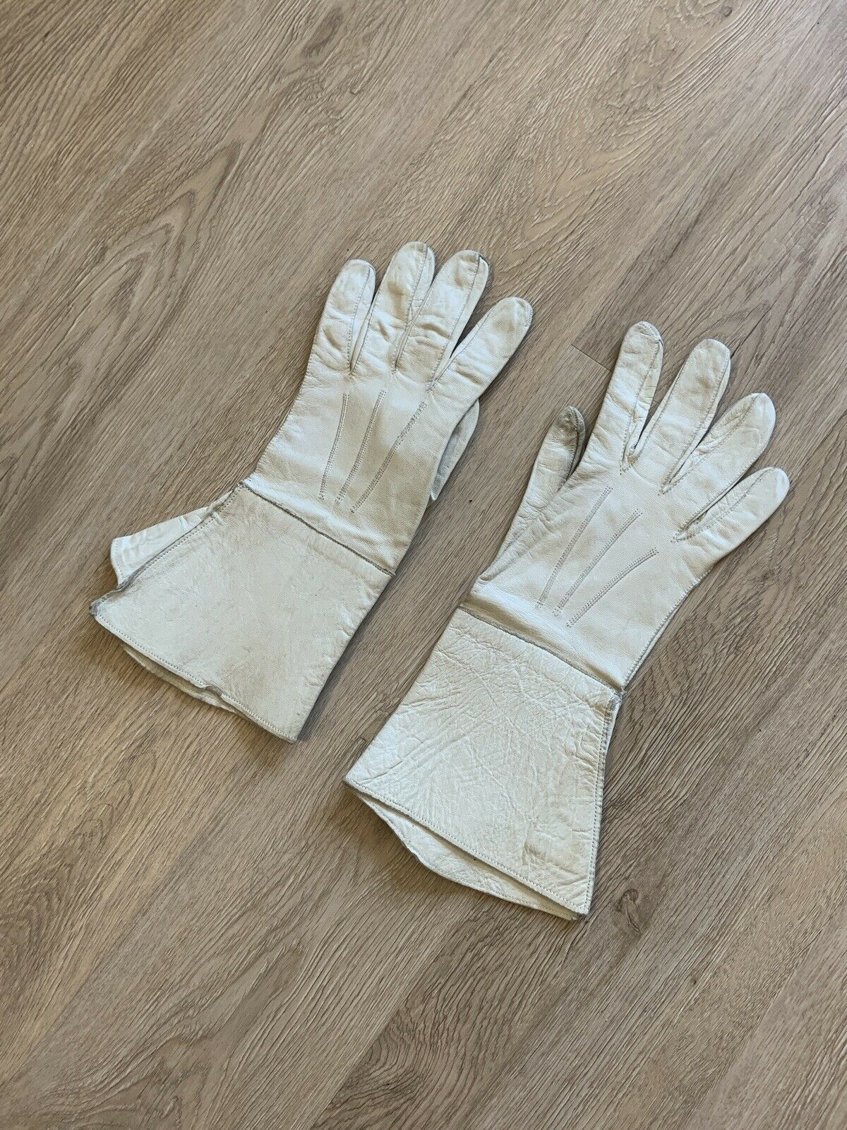 Vintage Early 20th Century French GAUNTLET GLOVES… - image 4