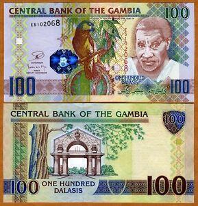 GAMBIA 100 DALASIS 2013 P 29 UNC