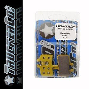 1-TruckerCo-Sintered-Metallic-Disc-Brake-Pads-Hayes-HFX-9-NINE-mag-MX1-mx-1-sm19