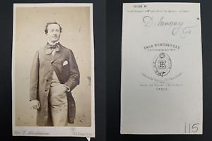 Bondonneau-Paris-Louis-Arsene-Delaunay-acteur-de-la-Comedie-Francaise-Vintage
