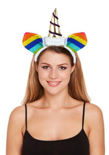 MANY COLOURS MAGICAL UNICORN HORN HEAD HAIR BAND HEADBAND FANCY DRESS COSPLAY
