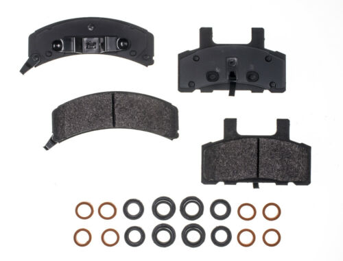 Disc Brake Pad Set-RS Semi-Metallic Pads Front RS PARTS RSD369MH