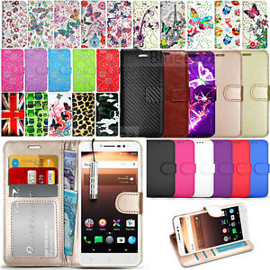 promo code d05ac ce697 Details about For Alcatel A3 Plus 3G 5011A - Wallet Leather Flip Case Cover  Book +Screen Guard