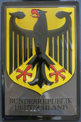 FEDERAL REPUBLIC GERMANY , Federal eagle , TIN SIGN