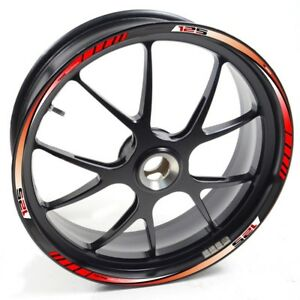 Details About Auen Sticker Wheel Rim Aprilia Rs4 125 Rs 4 Red Strip Tape Vinyl Adhesive