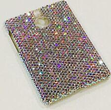 AB Rhinestone Bling Back Case for BlackBerry Passport Silver w/Swarovski Crystal