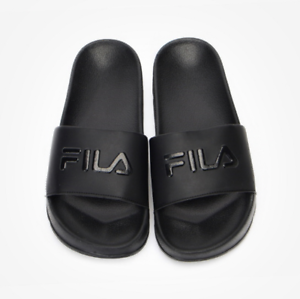 New FILA Drifter Slipper Flip Flop Slide Sip Limited Dope Black US Comfortable Cheap and beautiful fashion