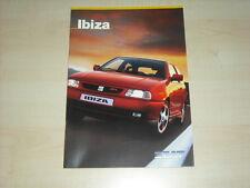 60261) Seat Ibiza Prospekt 03/1998