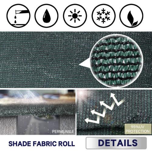 Verde Escuro//Preto 6/'x50/' cerca para-brisas cobertura cortina Tela De Privacidade Tecido Malha