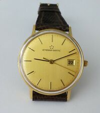 ETERNA WATCH. AUTOMATIC. MONOBLOCK CASE. GOLD 18K. GOOD CONDITION..