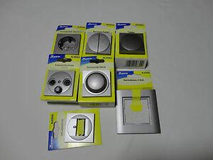 Steckdose-Taster-Wechselschalter-Dimmer-Abdeckungsrahmen-Kopp