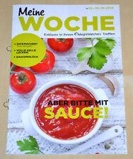 Weight Watchers Meine Woche 2.3 - 8.3 ProPoints™ Plan 2014 Wochenbroschüre *NEU*