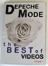 DEPECHE MODE - THE BEST OF VIDEOS VOL.1 - DVD Sigillato
