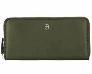 VICTORINOX Damen Portemonnaie Continental Wallet Victoria 2.0 Olivegrün