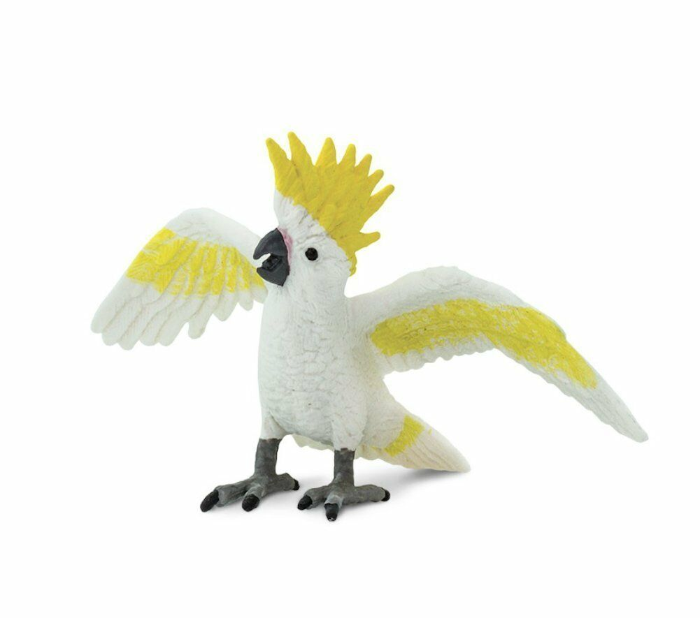Cockatoo by Safari LTD;/New /263829/Toy/bird