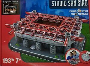 PUZZLE-3D-STADIO-San-SIRO-Di-Milano-193-Pz-Italia-New-Milan-Inter
