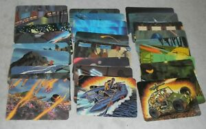 Lot-29x-Series-1-1986-GI-Joe-Cobra-Dreadnok-Figure-Action-Trading-Cards-Set-Pack