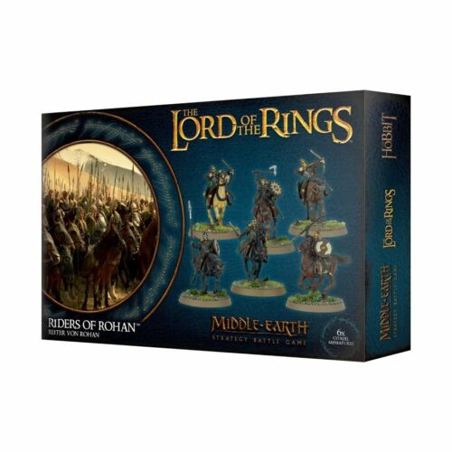Riders of Rohan 6 Middle Earth Strategy Battle Game LotR Lord Rings