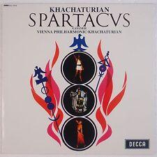 KHACHATURIAN : Spatacus AUDIOPHILE 180 GRAM LP DECCA SXL 6000 Speakers Corner NM