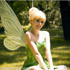 HOT~ Tinker Bell Blonde Golden Wigs Womens Girl Hair Cosplay Party Gold Full Wig