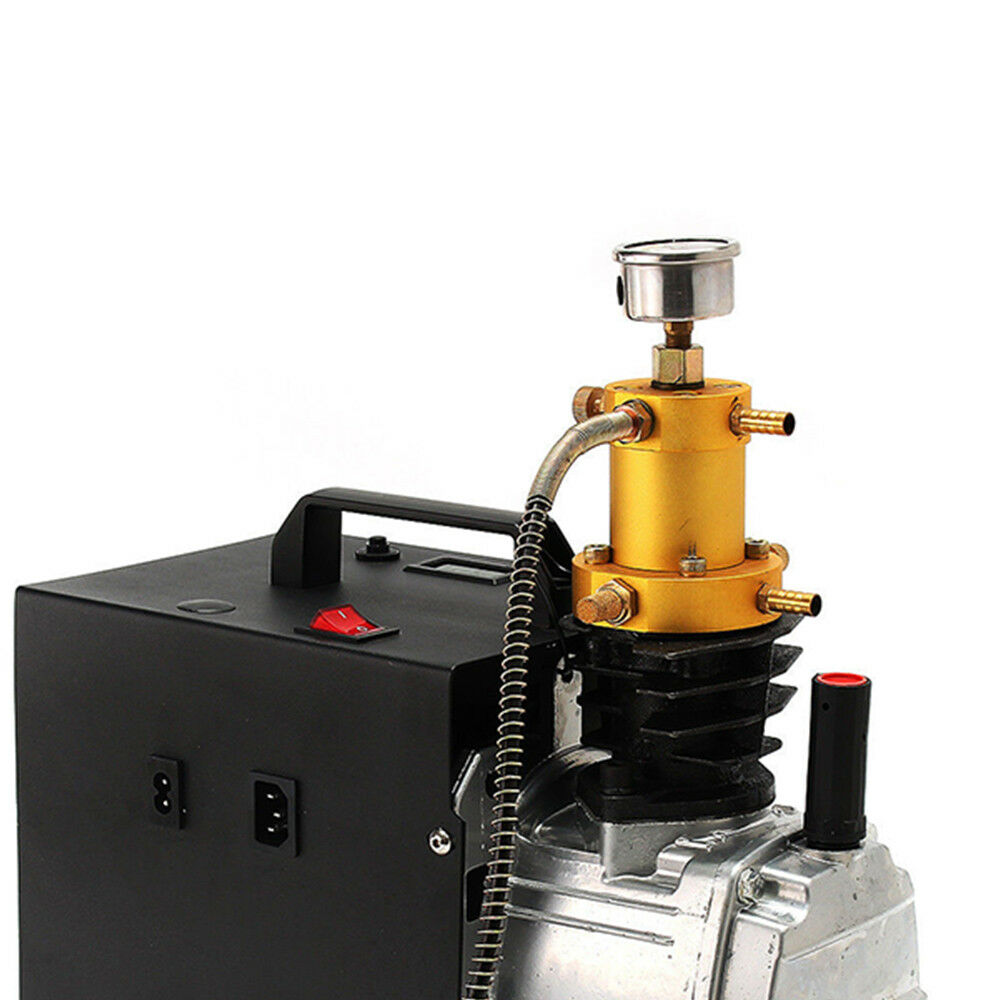 4500PSI 300bar 30mpa 300bar 4500PSI pcp Electric pump air compressor for gas fiGS two Stage 63e449