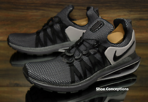 online store 1ea20 f16a3 Image is loading Nike-Shox-Gravity-Anthracite-Black-AR1999-011-Running-