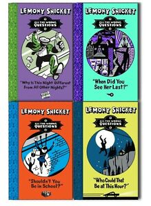 Lemony-Snicket-All-The-Wrong-Questions-4-Books-Collection-Pack-Set-New