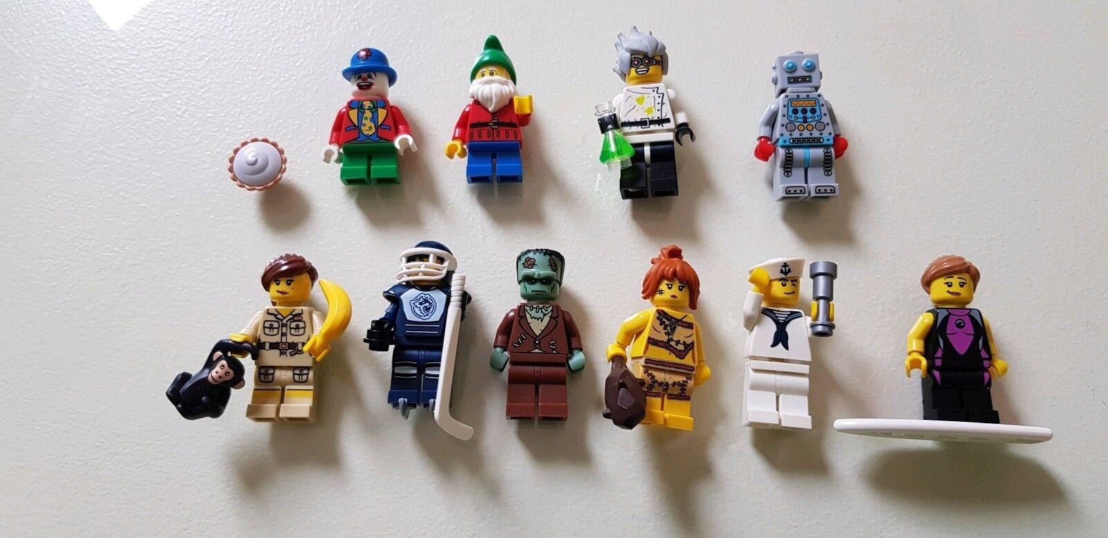Series 5 X 10 Lego Minifigures Nydqub7034 Lego Minifigures Dolls