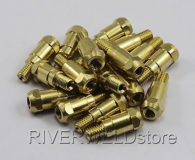 Mig MB24 Conical 16 Piece KIT- 0.8mm Binzel Style Shroud Contact Tip SB24