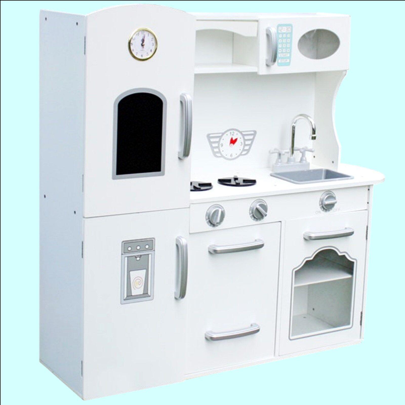 Kinderküche Weiß Spielküche Küche Retro Spielküche Küche Kinder Spielzeug Spielzeug Spielzeug Holz fce4dc