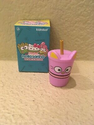 "3/"" Figure New Chococat Drink Hello Sanrio Mini Series x Kidrobot"