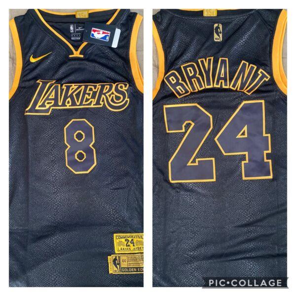 Kobe Bryant stitched jersey size XXL Brand New With Tags Size XxL ...
