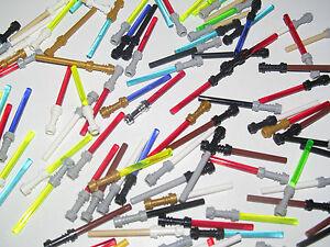 Lego-Star-Wars-Space-Accessoire-Arme-Sabre-Laser-de-l-039-Espace-Choose-Color