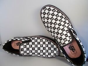 VANS-Classic-Slip-On-Lazy-Oaf-Checkerboard-Eyes-Shoes-Men-039-s-Size-8-5-New-In-Box