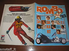 RIVISTA ROMBO 1982/48=JACKY ICKX=MOTOR SHOW=NISSAN DATSUN=BMW SERIE 3=