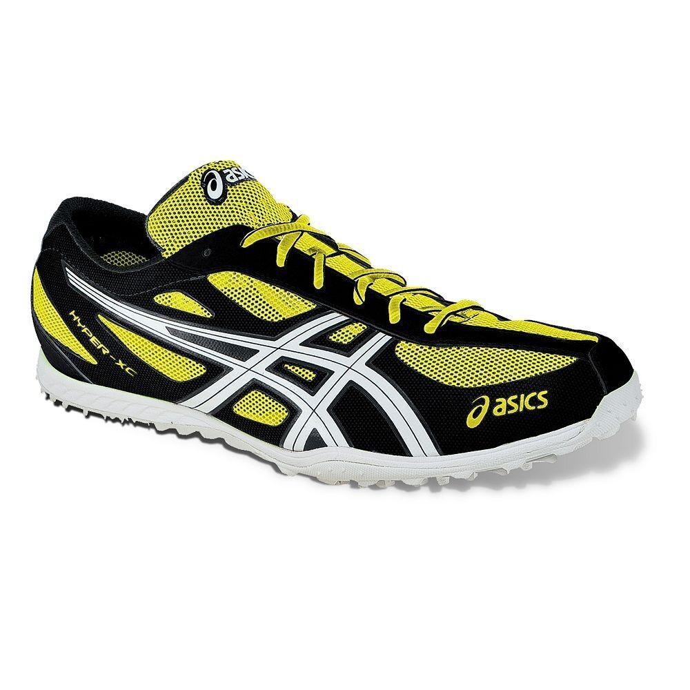 Nuovo di zecca!gli asic iper - xcs atletica scarpe giallo nero 8 9 9