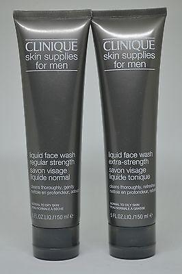 Clinique Skin Supplies For Men Liquid Face Wash 150ml 5fl Oz Choose Skin Ebay
