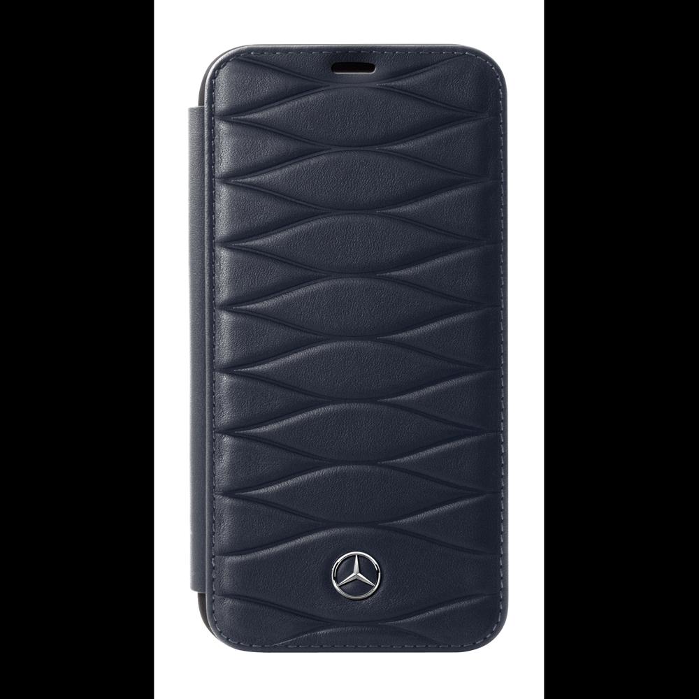 Mercedes Mercedes Mercedes Benz Huelle iPhone 7   iPhone 8 Booktype Blau    Verwendet in der Haltbarkeit  7d9f97