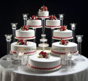 5 tier cascade wedding cake stand stands set 8 tier cascading wedding cake stand 8 tier candle stand 10453